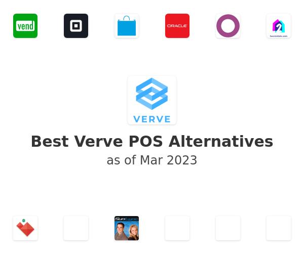 Best Verve POS Alternatives