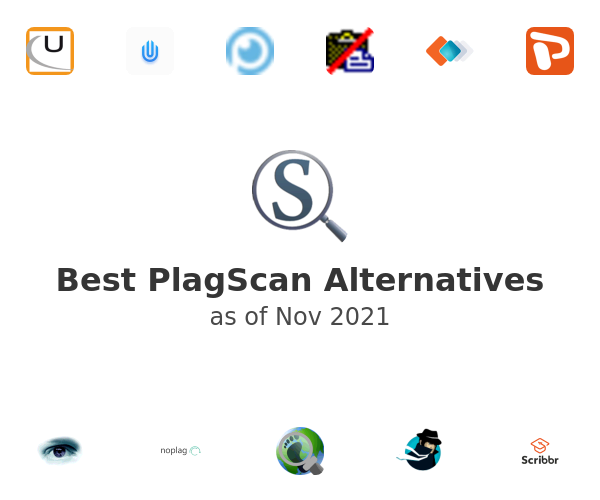 Best PlagScan Alternatives
