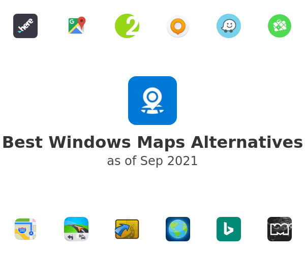 Best Windows Maps Alternatives