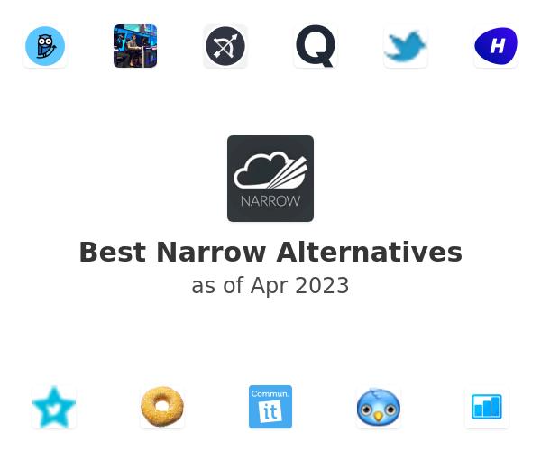 Best Narrow Alternatives