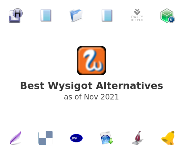 Best Wysigot Alternatives