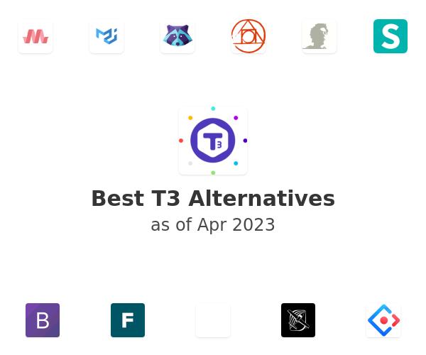Best T3 Alternatives