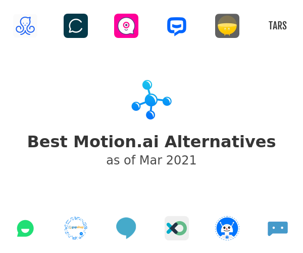 Best Motion.ai Alternatives