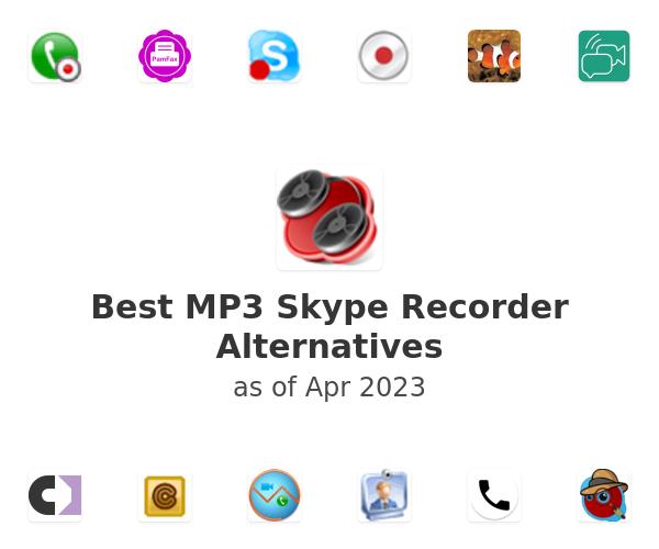 Best MP3 Skype Recorder Alternatives