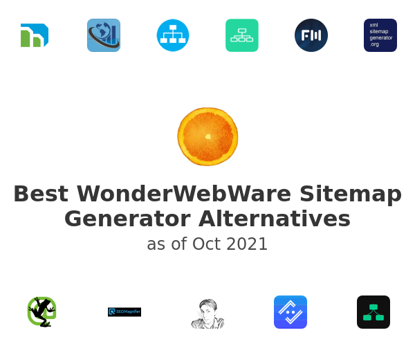 Best WonderWebWare Sitemap Generator Alternatives