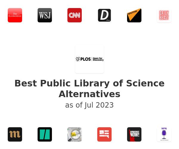 Best Public Library of Science Alternatives
