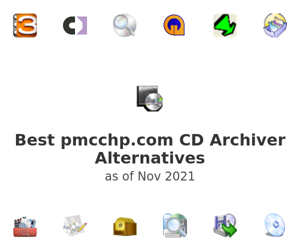 Best pmcchp.com CD Archiver Alternatives