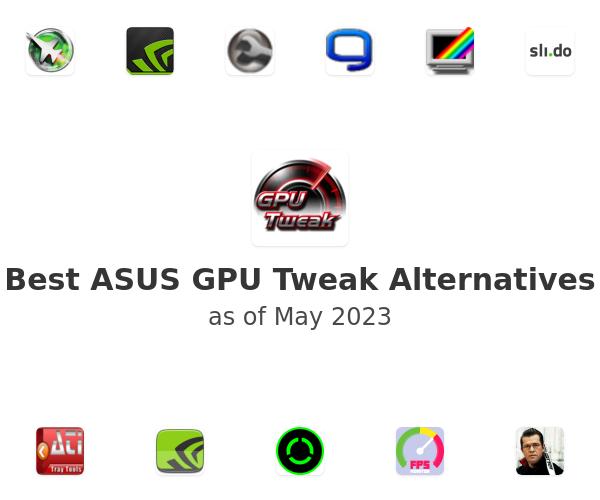 Best ASUS GPU Tweak Alternatives