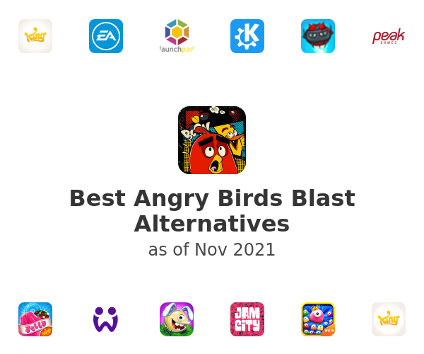 Best Angry Birds Blast Alternatives