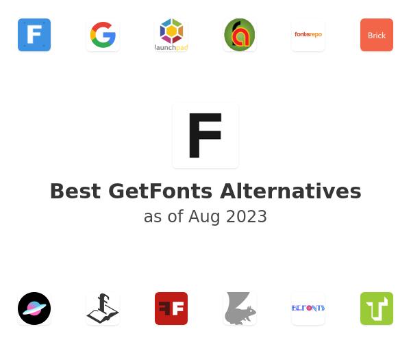 Best GetFonts Alternatives