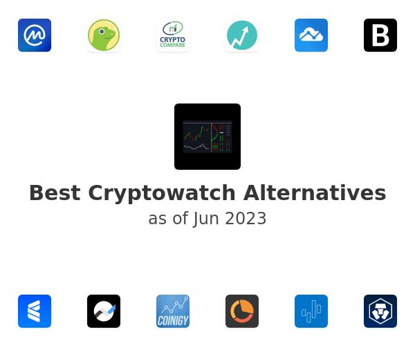 Best Cryptowatch Alternatives
