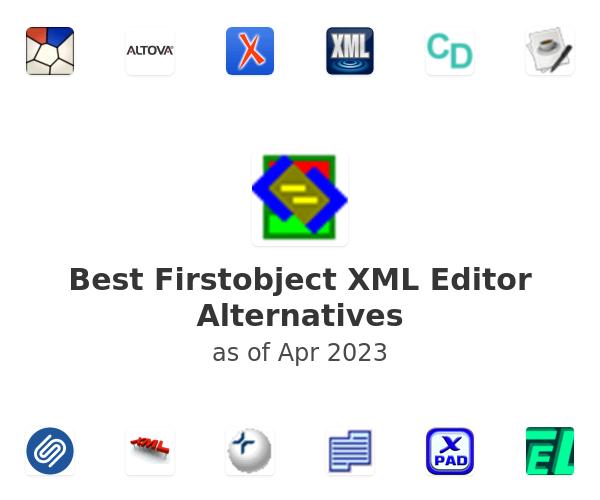 Best Firstobject XML Editor Alternatives