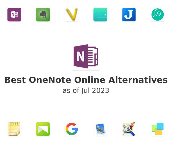 Best OneNote Online Alternatives