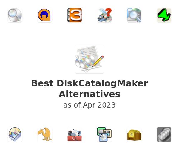 Best DiskCatalogMaker Alternatives