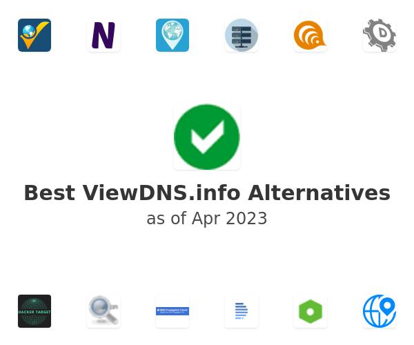 Best ViewDNS.info Alternatives