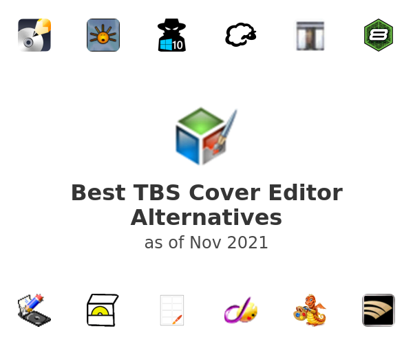 Best TBS Cover Editor Alternatives