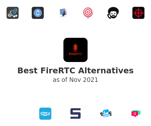 Best FireRTC Alternatives