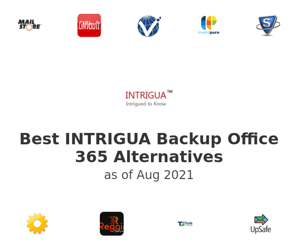 Best INTRIGUA Backup Office 365 Alternatives
