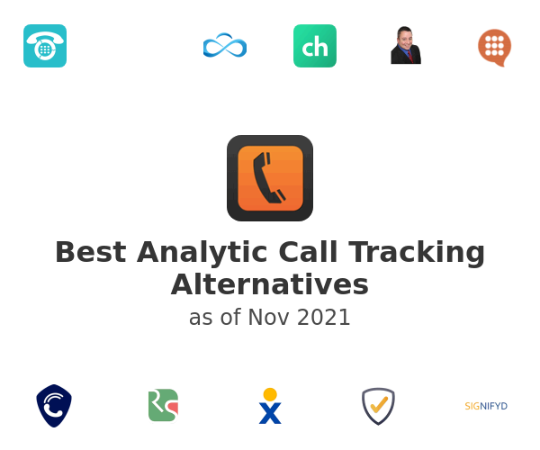 Best Analytic Call Tracking Alternatives