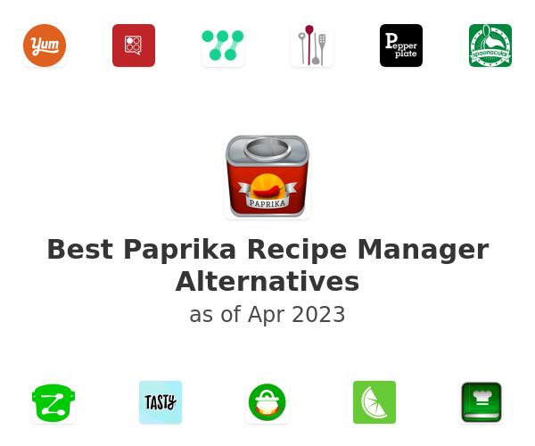 Best Paprika Recipe Manager Alternatives