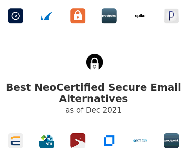Best NeoCertified Secure Email Alternatives