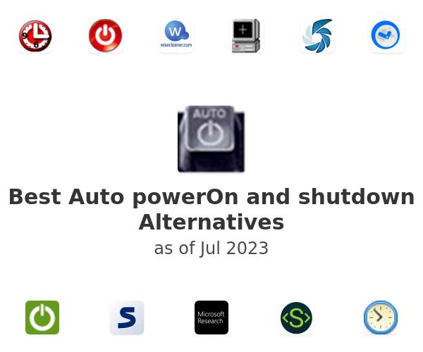 Best Auto powerOn and shutdown Alternatives