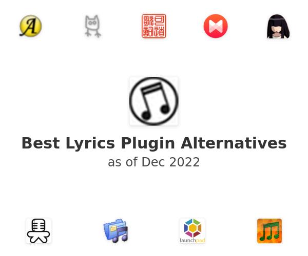 Best Lyrics Plugin Alternatives
