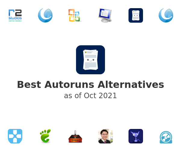 Best Autoruns Alternatives