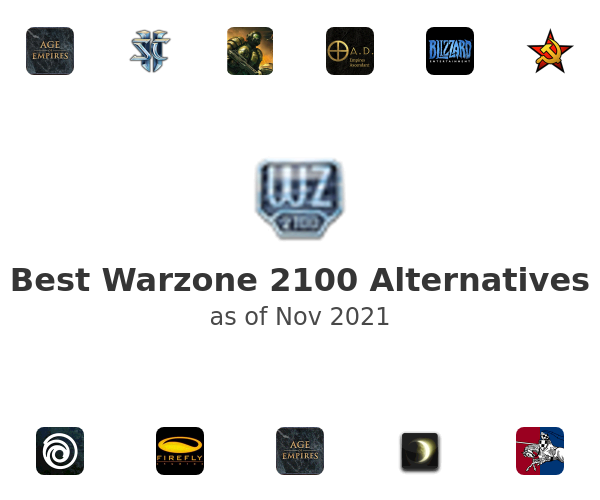 Best Warzone 2100 Alternatives