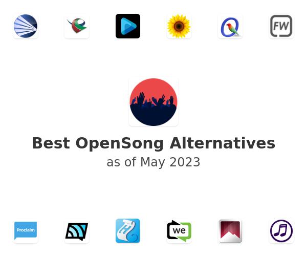 Best OpenSong Alternatives