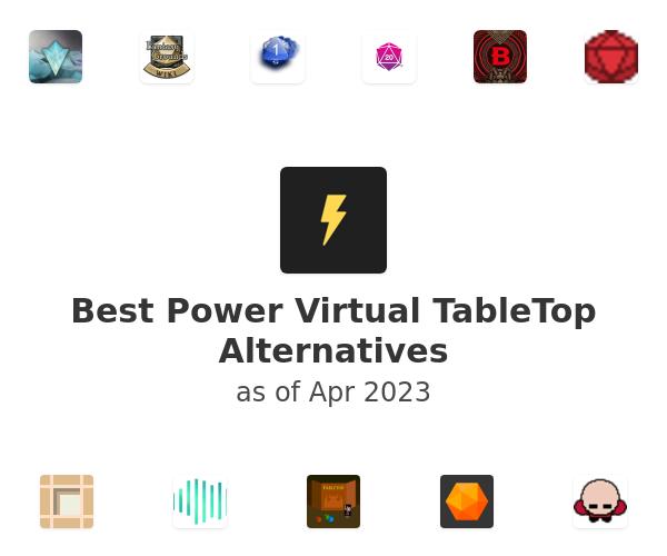 Best Power Virtual TableTop Alternatives