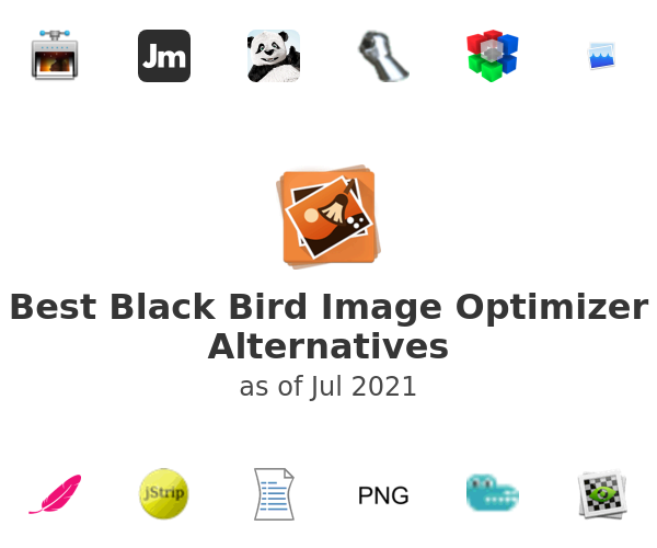 Best Black Bird Image Optimizer Alternatives