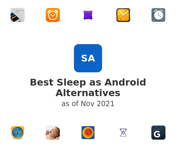 Best Sleep as Android Alternatives