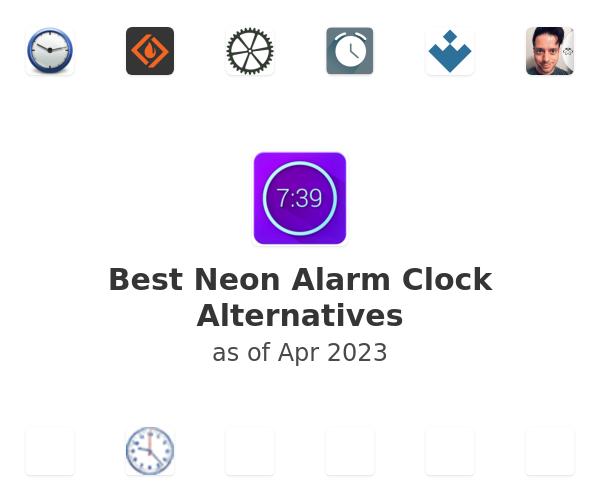 Best Neon Alarm Clock Alternatives
