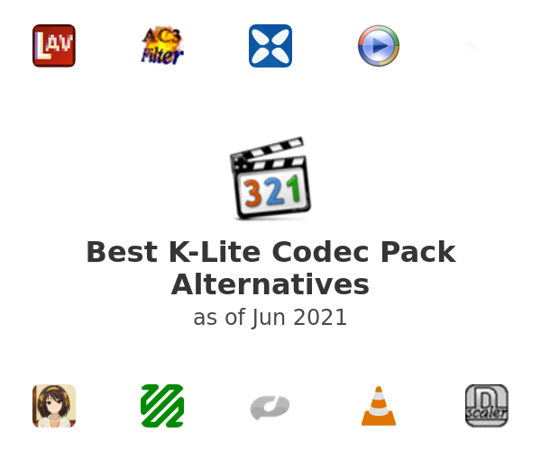 Best K-Lite Codec Pack Alternatives