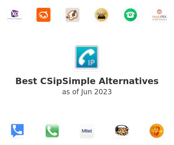 Best CSipSimple Alternatives