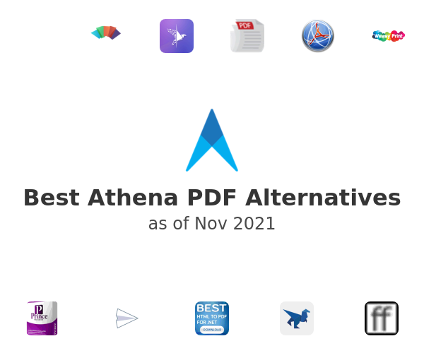 Best Athena PDF Alternatives