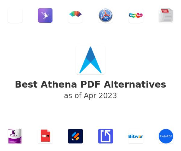 Best Athena PDF Alternatives