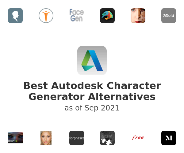 Best Autodesk Character Generator Alternatives