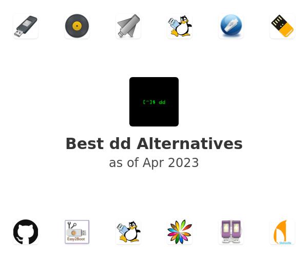 Best dd Alternatives