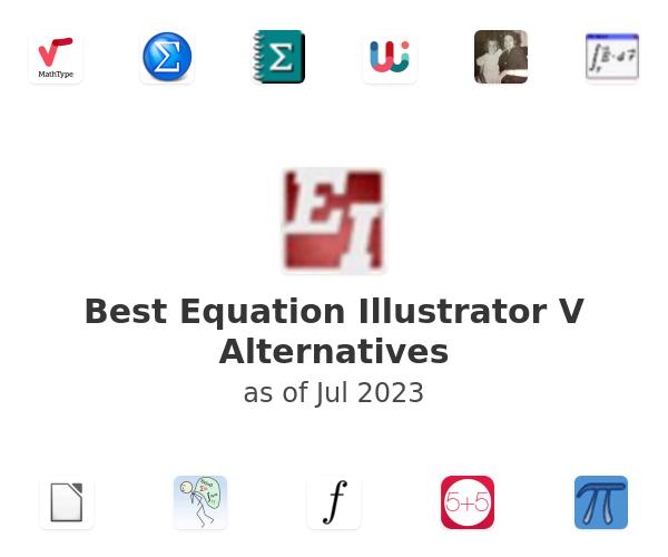 Best Equation Illustrator V Alternatives