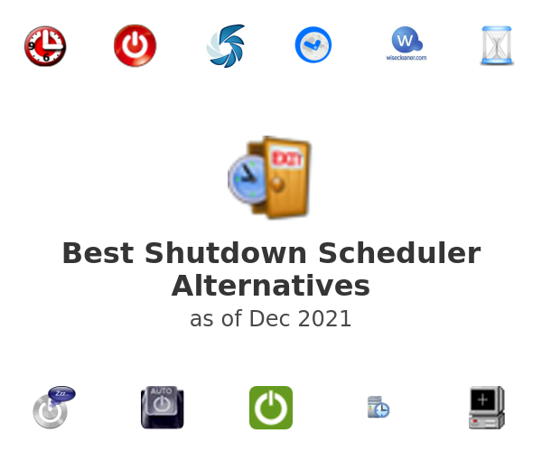Best Shutdown Scheduler Alternatives