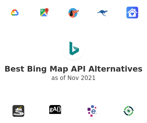 Best Bing Map API Alternatives