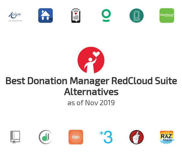 Best Donation Manager RedCloud Suite Alternatives