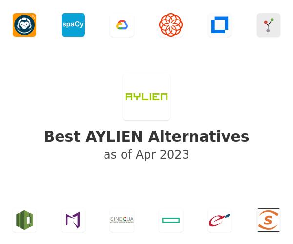 Best AYLIEN Alternatives