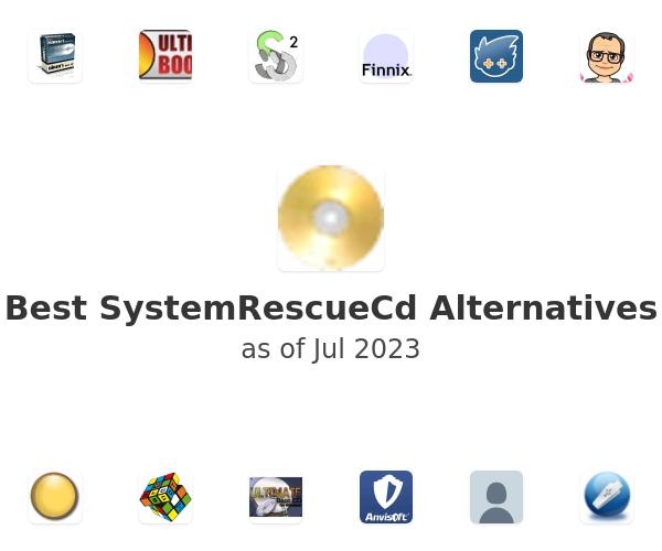 Best SystemRescueCd Alternatives