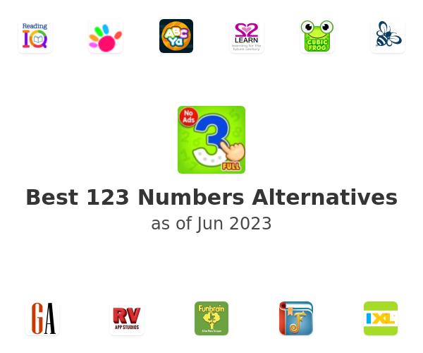 Best 123 Numbers Alternatives