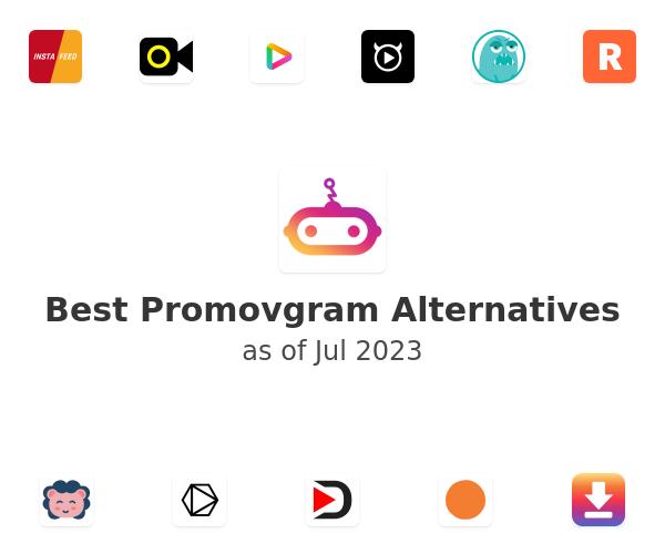 Best Promovgram Alternatives