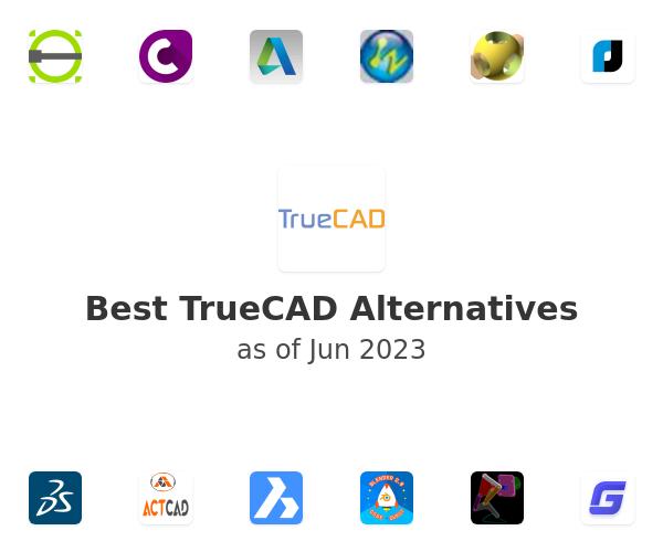Best TrueCAD Alternatives