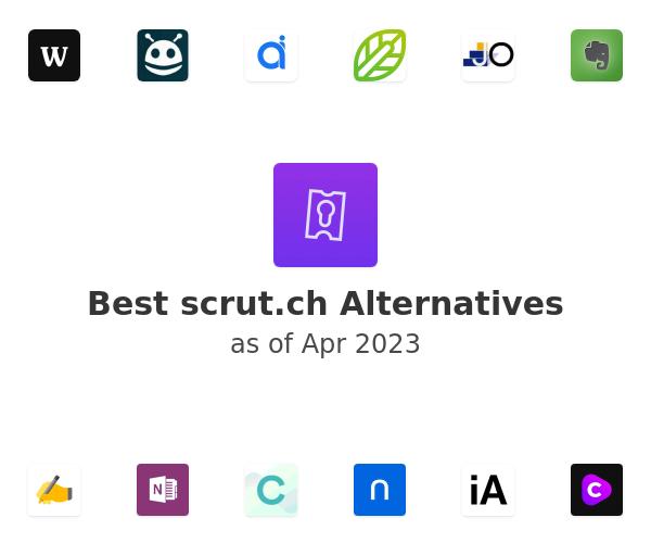 Best scrut.ch Alternatives